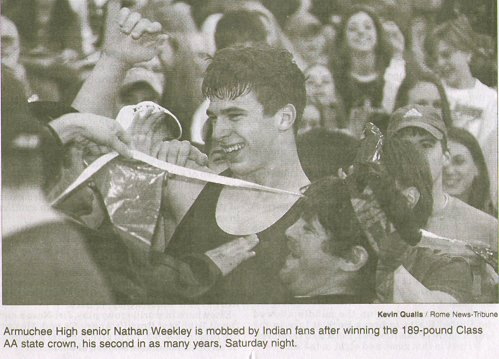 Nathan Weekley -- 2002 State Champ